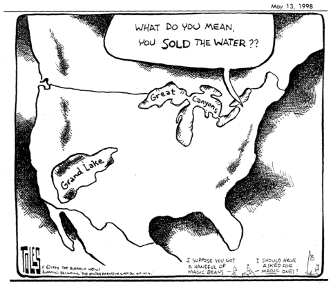 Tom Toles GL Diversion