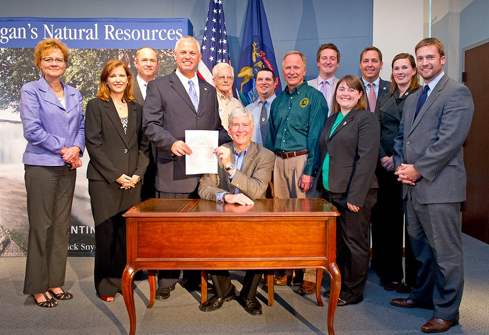 Michigan scores win for wildlife and sportsmen great for How much does a fishing license cost