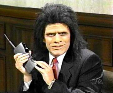 Unfrozen caveman lawyer.  credit:flicker