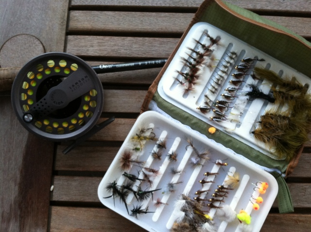 spring fishing prep